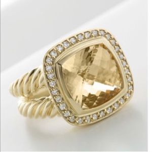 Authentic David Yurman Gold Albion Ring